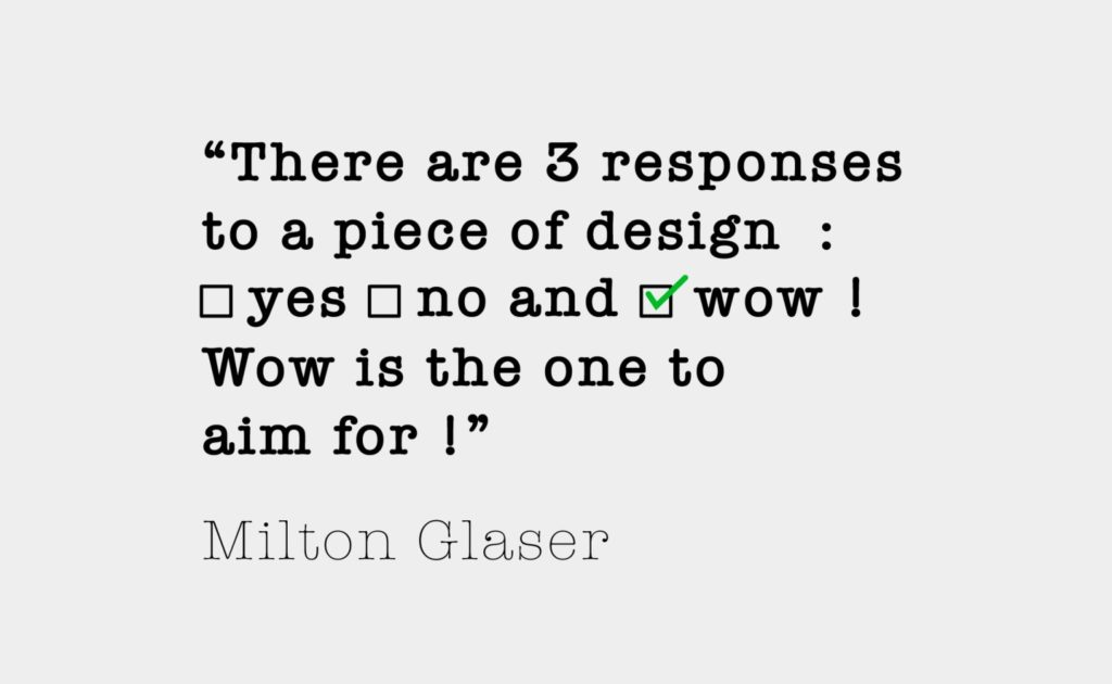 milton glaser quote